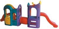 kids indoor plastic slide/ indoor playground equipment