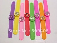 popular silicone slap watch for gifts