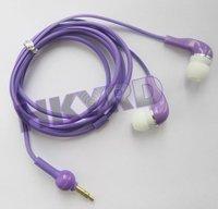 Purple 3.5mm Earphone In-ear Headphone Earpiece Gourd Cable Desigh for Mp3 Mp4 Mp5 D0203