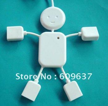 hot sale human shape 4 port usb hub from shenzhen factory