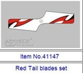 Firefox Tail blade 41147 red / 41157 blue to Art-tech 4CH Mini RC helicopter