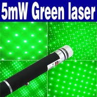 Free Shipping 20pcs/lot 5mW Star Projector Style Green Beam Laser Pointer Pen O-304