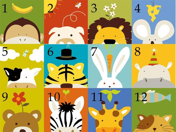 Aliexpress.com: Comprar 20 * 20 cm de dibujos animados de animales ...