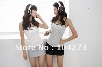 2012  New Fashion MIX-STYLE earphone Sports connect  MP3 //PC //mobie phone Player