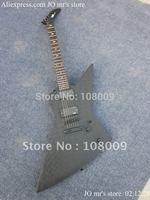 Custom JH2 Signature James Hetfield Model(Metallica) Black with Black diamond body plate