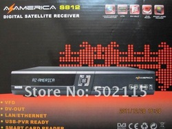 in stock !!!!!!!!!!Azbox az america s812 digital satellite receiver latest version lastest software(Hong Kong)