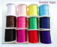 DIY elastice thread, Jewerly accessories, jewelery accessories, mix colors at random, 10pcs/lot. CPAM free shippingn-- SV024