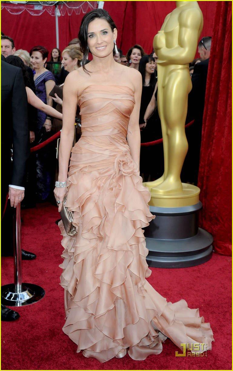Demi Moore Hochzeitskleid