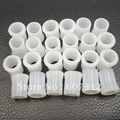 Free shipping 100/ lot  9mm White Rubber Tobacco Smoking Pipe Tip Grips,Wholesale and Retail