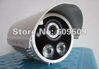 "Free Shipping 1/3"" SONY 700TVL Brand New Array infrared  IR Night Vision Security Waterproof CCTV Camera 100% Warranty 6180HP"