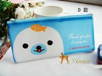 Hot selling kawaii animal pecil bag Pencil case Store Bag,Cosmetic Bag,Multifunction Bag,Change Purse,Pouch Korean Style