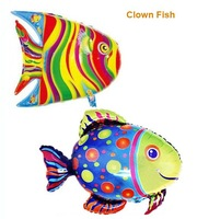 Xgift Toy, high qulity large size ballon FV1266, water Family Clown Fish balloon