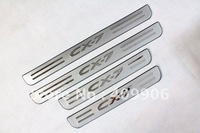 New For Mazda CX7 CX-7 2007-2012 Stainless Door Sill Scuff Plate Free Shipping! #BH