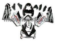 ABS Motorcycle Fairing bodywork body kits for triumph 675 fairing black/white