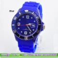 5pcs Silicone Sports Clalendar Watch With Logo 0305,Free Shipping