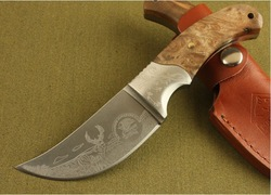 Browning African rhino hunting knife,camping knife,Survival knife ,outdoor knives tool /wholesale/retial Free shipping(China (Mainland))