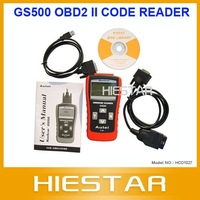 GS500 Scanner OBD2 II Diagnostic Trouble Code Reader with free shipping