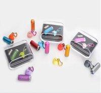 Mixed Color wholesale Pico-torch +mini super-high brightness Camping Flashlight+ aluminum flashlight