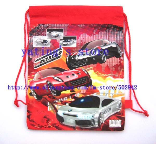 Free shipping 12pcs Car cute Fashion shoe bag, shoe pouch, gift bag, drawstring bag schoolbag shoulderbag(China (Mainland))