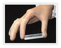 latex  non-sulphur finger cots rolled FC-8000
