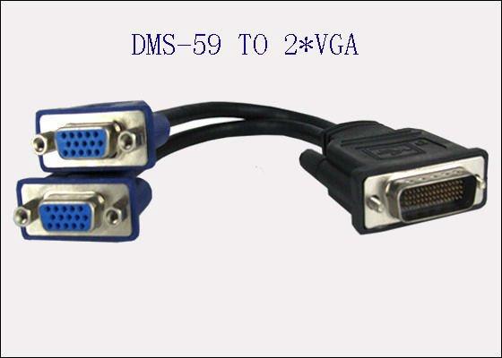Куплю переходник для видеокарты c разъёма DMS-59 на VGA или DVI