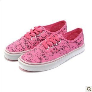 Promotion Department of the  colorful graffiti canvas shoes women's 206