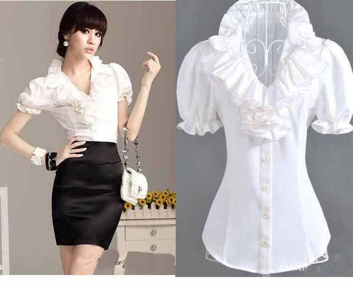 Блузка С Рюшами Купить В Самаре