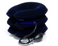 free shipping 50PCS/LOT  cervical vertebra retractor Full velvet three cervical traction Inflatable neck collar