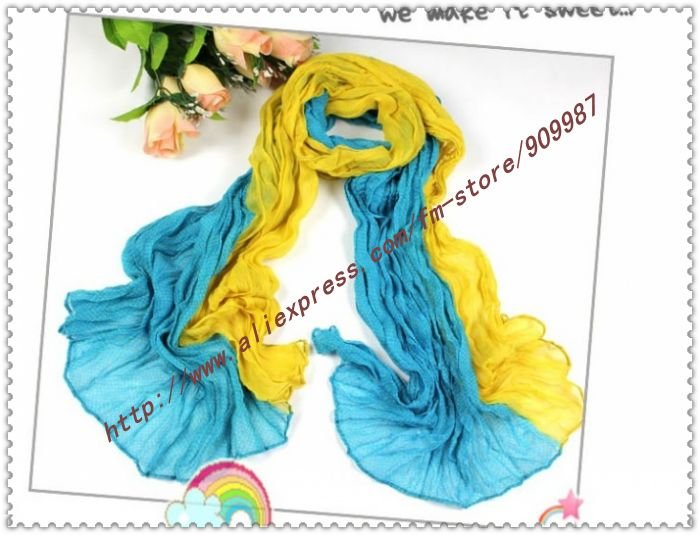 2012 new arrive women's fashion printed cotton voile with butterfly silk scarf shawls /scarves.9color,20pcs/lot 160*50cm
