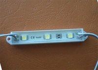 5050 SMD LED Module 3 pieces LED;DC12V input,20pcs a string;79mm*12mm size