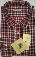 100% dress Cotton shirtsshirt for men, grid casual shirts FreeShipping size M-XXL