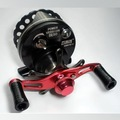 New  free shipping, Raft 50, With drag system, All-metal , raft fishing reel, fishing reel, Black