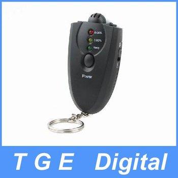 Free Shipping! LED Alcohol Breath Tester Breathalyzer Analyzer Black New