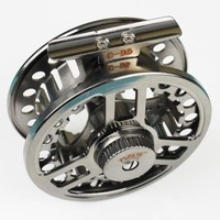 New free shipping,  fishing,C95,aluminum,Raft/Ice/Fly fishing reel, 4 colors
