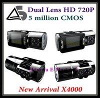 Автомобильный видеорегистратор Car BLACK BOX DVR recorder K3000 New Full HD Cameras 1440 x 1080P X5000 carcam and Retail