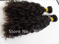 Manufacturer !!!  loose curl natural color100%  peruvian virgin hair extensions