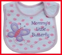 3 layers cotton jersey baby bibs
