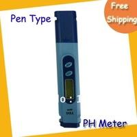 Free shipping PH Meter--Digital Pen Type PH Meter Tester Portable ph Meter