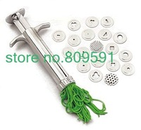 FREE SHIPPING,polymer clay gun,clay extruder,19 different discs