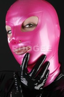 Free shipping! Top selling  100% natural latex hoods