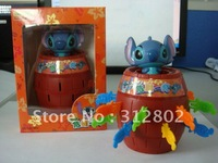 Hot sell  toy  and gifts Cartoon toys Stitch toy  stitch Pirates barrels