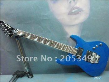 Free Shipping guitar !  Wholesale / Retail charming Jackson classic blue guitar electric guitars classic guitar