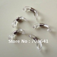 50Pcs/Lot 21x4mm Silver Tone Cord Ends for Sunglass Eyeglass Chain Holder Wholesale, Free Shipping