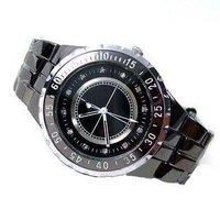 Free Shipping  Men's Tungsten Diamonds Stainless Steel Quartz Watch