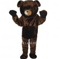 Adorable Bear Short Plush Adult Animal Mascot Costume Set Adult Character Costume Cosplay mascot costume free shipping
