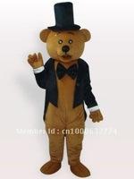 Ritual Bear Short Plush Adult Mascot Costume