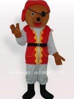 Private Bear Short Plush Adult Mascot Costume Adult Character Costume Cosplay mascot costume free shipping