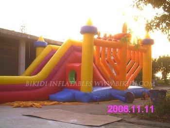 inflatable Menorah Slide for Hanukkah (B4027)