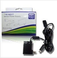 Free shipping wholesales 100pcs/lots AC Adapter charger Power Supply for xbox360 Kinect US