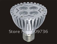 free shipping! wholesale warm white/ white gu10/ E27/ MR16/ B22/ E14 4w led spotlight led bulb 4*1w epstar chip